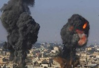حمله هوایی ارتش اشغالگر به جنوب غزه