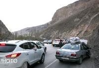 ترافیک نیمهسنگین در محور کرج_چالوس