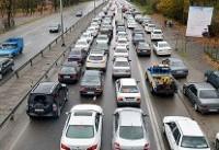 ترافیک در محورهای منتهی به تهران/گرد و خاک در خوزستان
