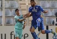پیروزی استقلال مقابل الهلال در نیمه نخست