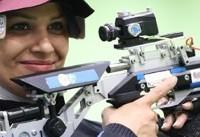 رکوردشکنی الهه احمدی در مسابقه غیررسمی