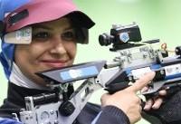 الهه احمدی رکورد قهرمان جهان را در مسابقات غیررسمی شکست