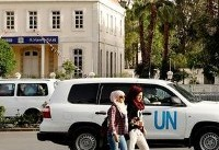 U.N. team fired upon in Syria while visiting suspected chemical sites