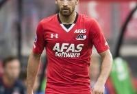 جهانبخش بازیکن برتر هفته اخیر لیگ هلند شد