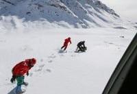 برف بارید، محل جستجوی پیکر مسافران پرواز آسمان، پر شد/ ادامه عملیات جستجو