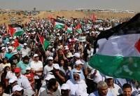 برپایی چهارمین راهپیمایی بازگشت در نوار غزه؛ «جمعه اسرا و شهیدان»