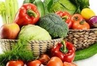 برای بهبود سلامت روان سبزی و میوه خام مصرف کنید