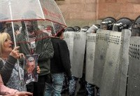 Hundreds of opposition protesters arrested in Armenia