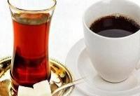 کاهش ریسک سکته با نوشیدن روزانه سه فنجان قهوه و چای
