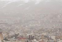 هوای تهران در روز زمین پاک ناسالم است