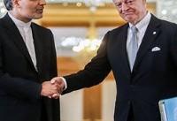 استفان دیمیستورا با هیئتی ایرانی در تهران دیدار کرد