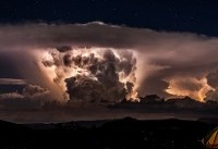 عکس روز نشنالجئوگرافیک: طوفان بیابانی