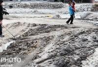 وقوع سیلاب و آبگرفتگی در مسیلها و رودخانهها