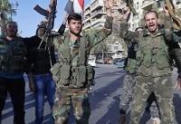 فرار تروریست های داعش از منطقه حجرالاسود در دمشق