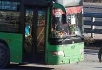 گلوله باران مواضع تروریست های داعشدر اردوگاه یرموک/ خروج ۱۷ دستگاه اتوبوس حامل تروریست ها از ...
