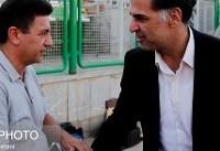 آذری: در سال حمایت از کالای ایرانی، نمازی را آوردیم/ آرزویم حضور بانوان در ورزشگاه فولادشهر است