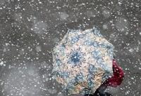 احتمال بارش برف در برخی استان های کشور