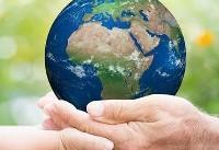 با صرفهجویی استفاده از کاغذ و کاشت درخت زمین را پاک نگه داریم