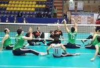 لیگ جهانی والیبال نشسته/ تبریز؛ چهارمین پیروزی متوالی برای تیم ایران
