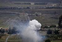 حمله خمپارهای رژیم صهیونیستی به مواضع ارتش سوریه در جولان