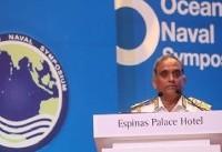 اذعان فرمانده نیروی دریایی بنگلادش به کاهش «دزدی دریایی» با حضور ناوگروههای ایران