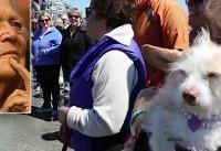 Dog Walkers Mourn Barbara Bush During Gathering on Maine Beach