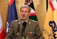 وزارت دفاع برای تحقق امنیت پایدار در منطقه مکران عزم و اراده جدی دارد