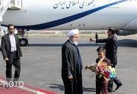 سفر روحانی به تبریز (عکس)