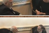 دیدار ظریف با وزیران خارجه نروژ و آلمان درباره برجام (+عکس)