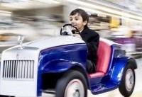 لذت رانندگی با رولز رویس برای کودکان بیمار