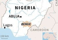 Eighteen killed in Nigerian church by suspected herdsmen