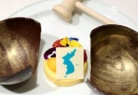Unjust dessert? Japan demands Koreans wipe map off summit dinner mousse