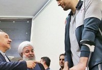 President Hassan Rouhani lauds Iranian sitting volleyball players ...