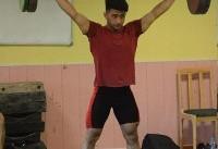 اولی وسومی وزنه برداران نوجوان ایران در گروه B دسته ۶۹ کیلوگرم آسیا