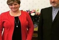 دیدار و گفتوگوی سفیر ایران با وزیر خارجه دولت در سایه انگلیس