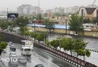 رگبار باران و وزش باد شدید در برخی مناطق کشور