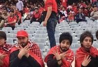 Disguised women sneak into Iranian football match