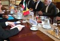 گفت وگوی ظریف با همتای بلژیکی درباره آینده برجام بدون آمریکا