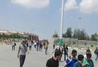 حضور هواداران استقلال در ورزشگاه آزادی ۹ ساعت مانده به شروع بازی+ عکس