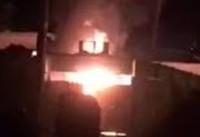 ناآرامی در کازرون: به آتش کشیدن مرکز پلیس/ یک کشته و ۶ زخمی
