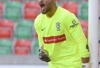 عابدزاده دروازهبان تیم ملی فوتبال در بازی با ازبکستان؟