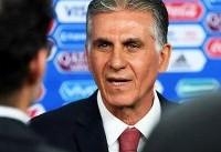 کیروش: زندهباد ایران، بازیکنانم جنگیدند/مراکش تیم خوبی بود