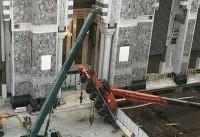 سقوط جرثقیل در مسجدالحرام + عکس
