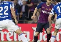 برد بارسلونا مقابل سوسیهداد/ خداحافظی اینیستا با چشمانی اشکبار
