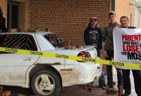 High School Seniors Successfully Fake Hilarious Crash Prank