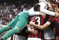 پایان خوش میلان با کسب سهمیه اروپا/ برد ناپولی در آخرین بازی فصل