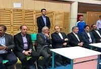 وزیر ورزش و رئیس کمیته ملی المپیک  در اردوی تیم ملی کاراته