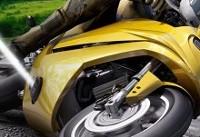 بکارگیری فناوری جالب برای جلوگیری از ُسر خوردن موتور سیکلت (+عکس)