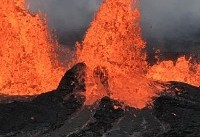 عکس/ گدازه های هاوایی در راه رسیدن به یک نیروگاه ژئوترمال