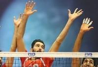 مسابقات لیگ ملتهای والیبال در شبکه سه